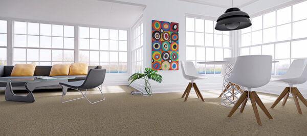 Gulvtæpper fremhæver farver og mønstre